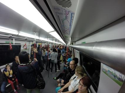U-Bahn in HK